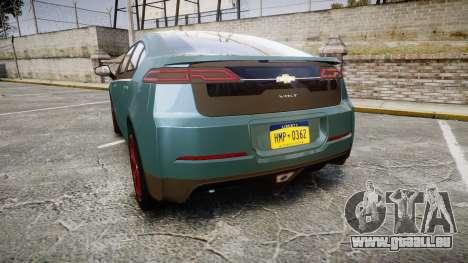 Chevrolet Volt 2011 v1.01 rims2 für GTA 4 hinten links Ansicht