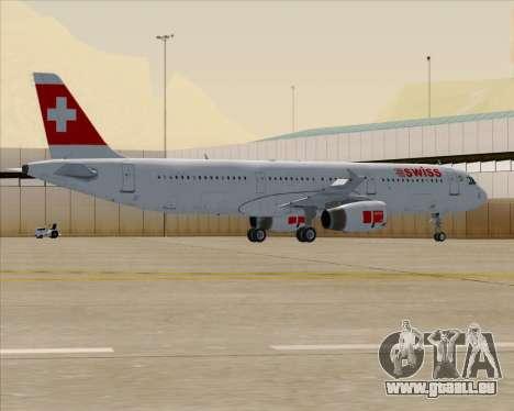 Airbus A321-200 Swiss International Air Lines für GTA San Andreas