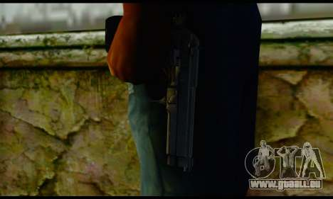 Beretta M9 pour GTA San Andreas troisième écran