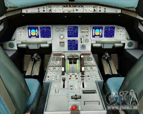 Airbus A321-200 American Pacific Airways für GTA San Andreas Innen