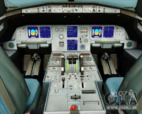 Airbus A321-200 American Pacific Airways pour GTA San Andreas salon