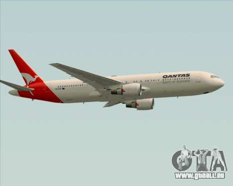 Boeing 767-300ER Qantas (Old Colors) für GTA San Andreas Innenansicht