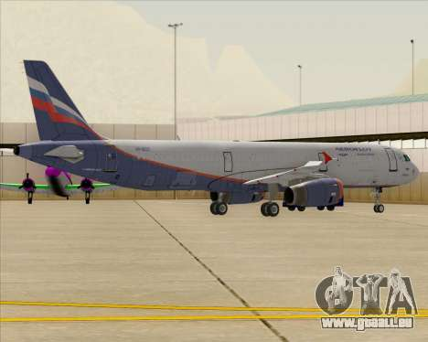 Airbus A321-200 Aeroflot - Russian Airlines pour GTA San Andreas roue