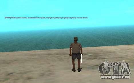 L'utilisation automatique des médicaments pour GTA San Andreas troisième écran