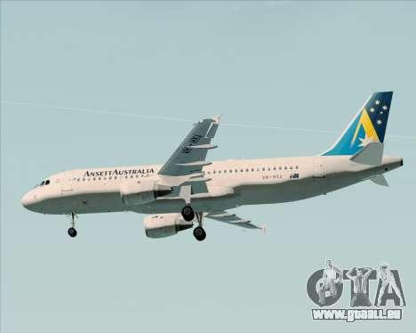 Airbus A320-200 Ansett Australia pour GTA San Andreas moteur