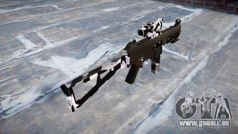 Pistolet UMP45 Sibérie pour GTA 4 secondes d'écran