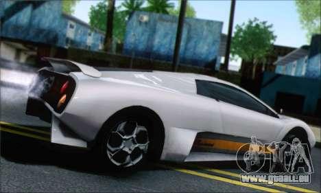 GTA 5 Infernus pour GTA San Andreas laissé vue