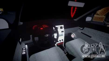 VAZ-Priora 2172 Fixe pour GTA 4 est une vue de l'intérieur