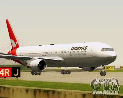 Boeing 767-300ER Qantas (Old Colors) für GTA San Andreas linke Ansicht