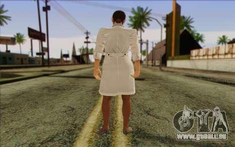 Metal Gear Solid 4 Naomi Hunter für GTA San Andreas zweiten Screenshot