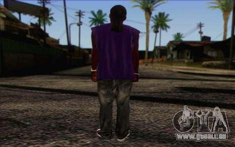 Ballas from GTA 5 Skin 1 pour GTA San Andreas deuxième écran