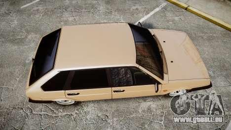 VAZ-2109 BRAS pour GTA 4 est un droit