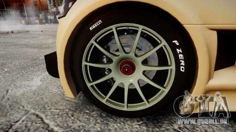 Gumpert Apollo S 2011 für GTA 4 Rückansicht