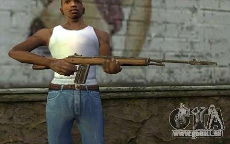 M14 from Battlefield: Vietnam für GTA San Andreas dritten Screenshot