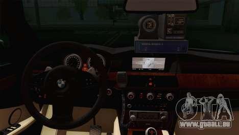 BMW 530xd DPS pour GTA San Andreas sur la vue arrière gauche