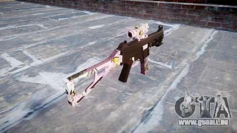 Pistolet UMP45 Kawaii pour GTA 4 secondes d'écran