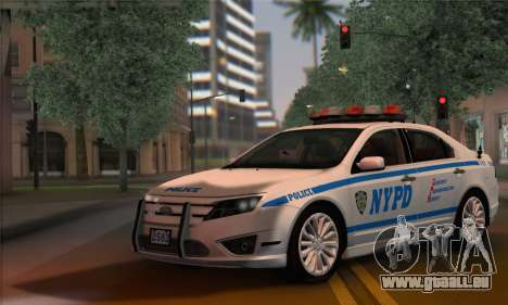 Ford Fusion NYPD v2.0 pour GTA San Andreas