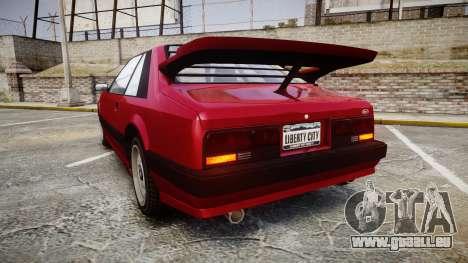Vapid Uranus Custom für GTA 4 hinten links Ansicht