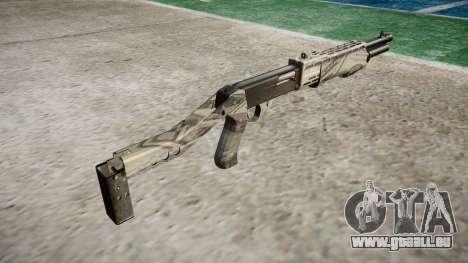 Ружье Franchi SPAS-12 Benjamins pour GTA 4 secondes d'écran