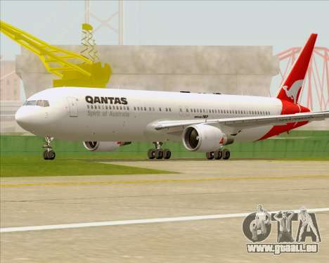 Boeing 767-300ER Qantas (Old Colors) für GTA San Andreas obere Ansicht