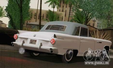 Smith Thunderbolt from Mafia 2 pour GTA San Andreas sur la vue arrière gauche