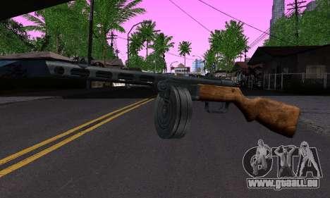 Gun Shpagina für GTA San Andreas