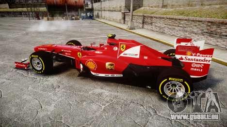 Ferrari F138 v2.0 [RIV] Massa TSD für GTA 4 linke Ansicht