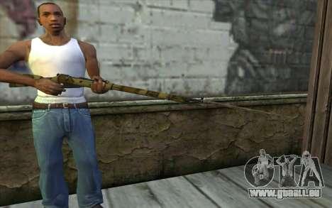 Mosin-v12 pour GTA San Andreas troisième écran
