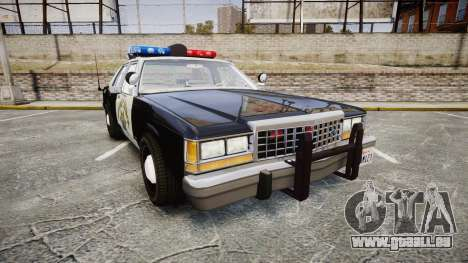 Ford LTD Crown Victoria 1987 Police CHP1 [ELS] pour GTA 4