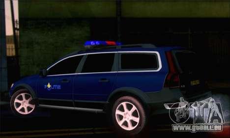 Volvo XC70 K9 Politie für GTA San Andreas linke Ansicht