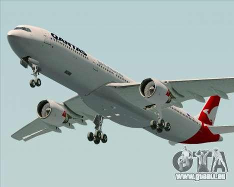 Airbus A330-300 Qantas (New Colors) pour GTA San Andreas moteur