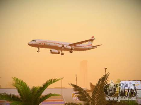 Airbus A321-232 Middle East Airlines pour GTA San Andreas vue de côté