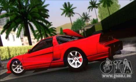 Honda NSX 2005 für GTA San Andreas zurück linke Ansicht