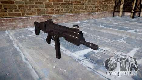 Pistolet SMT40 avec crosse icon1 pour GTA 4