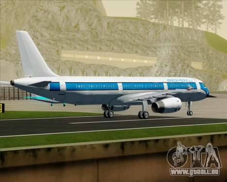 Airbus A321-200 American Pacific Airways pour GTA San Andreas vue arrière