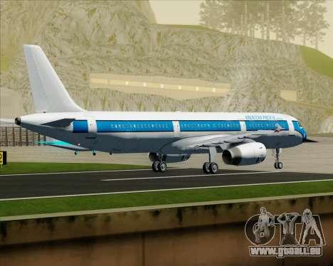 Airbus A321-200 American Pacific Airways für GTA San Andreas Rückansicht