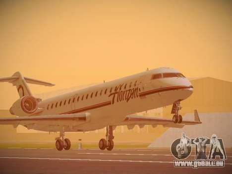 Bombardier CRJ-700 Horizon Air für GTA San Andreas linke Ansicht