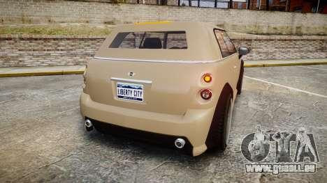 GTA V Weeny Issi Stock für GTA 4 hinten links Ansicht