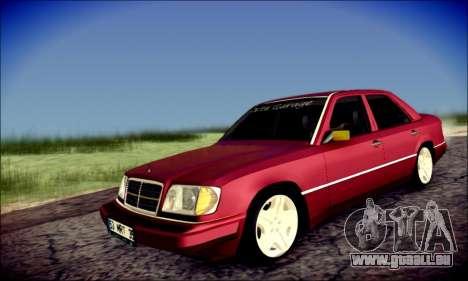Mercedes-Benz E320 Delta Garage pour GTA San Andreas