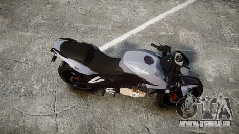 Bajaj Pulsar 200NS 2012 für GTA 4 rechte Ansicht