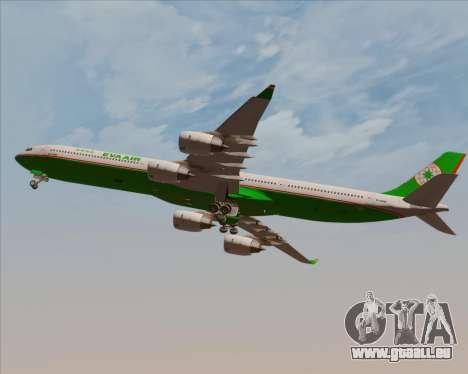 Airbus A340-600 EVA Air für GTA San Andreas