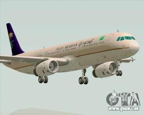 Airbus A321-200 Saudi Arabian Airlines für GTA San Andreas
