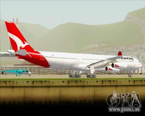 Airbus A340-300 Qantas pour GTA San Andreas vue de dessous