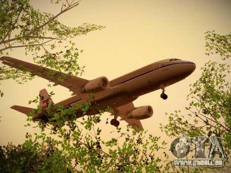 Airbus A320-214 Aeroflot Retrojet pour GTA San Andreas salon