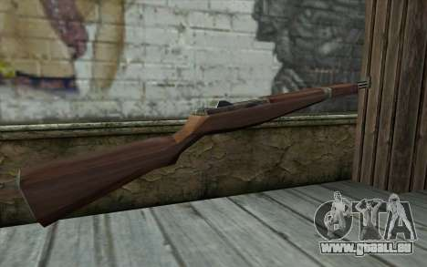M1 Garand from Day of Defeat für GTA San Andreas zweiten Screenshot