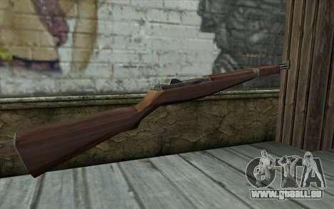 M1 Garand from Day of Defeat pour GTA San Andreas deuxième écran