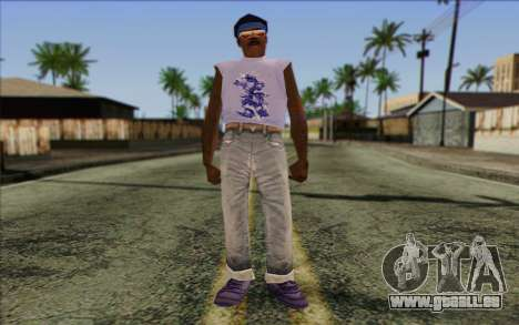 Haitian from GTA Vice City Skin 2 pour GTA San Andreas