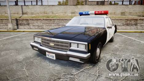 Chevrolet Impala 1985 LAPD [ELS] pour GTA 4