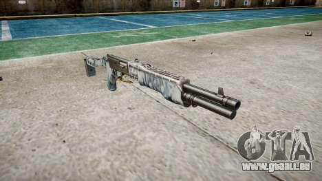 Ружье Franchi SPAS-12 Crânes pour GTA 4