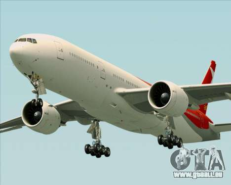 Boeing 777-21BER Nordwind Airlines für GTA San Andreas linke Ansicht